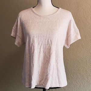 Lou & Grey thick creme colored t shirt